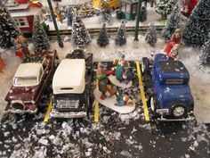 Christmas Village 2011, handmade Parking