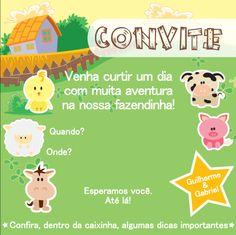 Criação de layout   Especificação: Convite   Job: Festa infantil