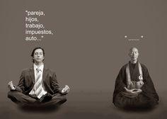 """... MINDFULLNESS (meditación): es fundamentalmente es abandonar la actividad de esa mente errante, también llamada """"mente de mono"""" porque nuestra mente, igual que un mono brinca de rama en rama, va """"saltando"""" de tema en tema. Entonces concentramos nuestra atención en lo que está sucediendo en el presente, bien en nuestro cuerpo, bien en el mundo exterior. Dejamos de rumiar sobre el pasado y de preocuparnos acerca del futuro. http://parameshvaricenter.blogspot.com.es/2013_09_01_archive.html"""
