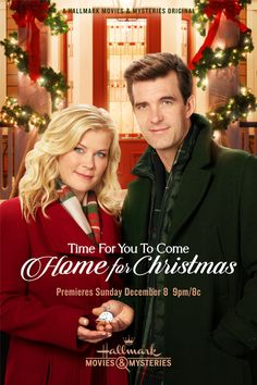 Its a Wonderful Movie - Your Guide to Family and Christmas Movies on TV: Time for You to Come Home for Christmas - a Hallmark Movies amp; Mysteries Miracles of Christmas Movie starring Alison Sweeney and Lucas Bryant! Hallmark Weihnachtsfilme, Films Hallmark, Hallmark Channel, Family Christmas Movies, Hallmark Christmas Movies, Christmas Shows, Christmas 2019, Xmas Movies, Christmas Dance