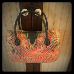 Buntal bag This is a bag crafted in the Philippines as their trademark bags. Bags