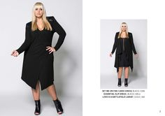 www.harlowstore.com Fall Winter, Autumn, Plus Size Girls, Australian Fashion, Fashion Lookbook, Plus Size Outfits, Plus Size Fashion, Cold Shoulder Dress, Denim