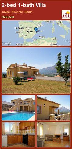 2-bed 1-bath Villa in Javea, Alicante, Spain ►€508,500 #PropertyForSaleInSpain