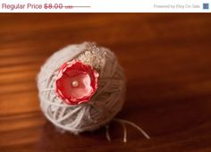Photography props - White Blush tieback by SweetDecemberDesign on Etsy