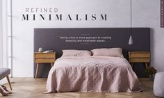 Minimalism, Space, Bed, Furniture, Design, Home Decor, Floor Space, Decoration Home, Stream Bed