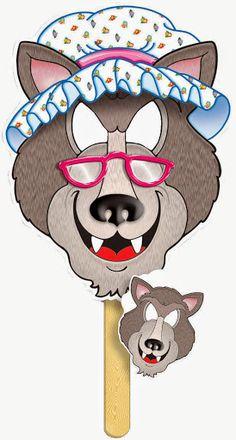 Στον παλαιότερο Οδηγό Νηπιαγωγού (2007, κεφ 8, σελ.101-105) αναφέρεται ως προτεινόμενη δραστηριότητα αφηγηματικού λόγου, η αναδιήγ... Circle Time Activities, Alphabet Activities, Little Red Ridding Hood, Red Riding Hood, Free Worksheets For Kids, Cute Wallpapers For Ipad, Goldilocks And The Three Bears, Paper Puppets, Three Little Pigs