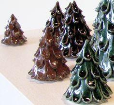 clay christmas trees | Christmas-Trees