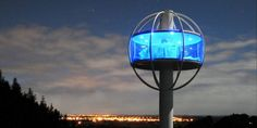 This futuristic treehouse has an automated beer dispenser and shuts down in 'zombie mode'