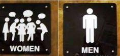 Resultado de imagem para placas divertida banheiros