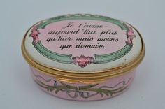 English Halcyon Days RARE Enameled Box French | eBay