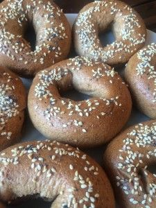 Homemade Whole Wheat Bagels! | The Conscientious Eater