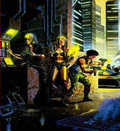 Shadowrun - Cyberpunk lives this is where matrix really started...