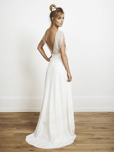 bohemian inspired Rime Arodaky wedding dress http://www.rime-arodaky.com/