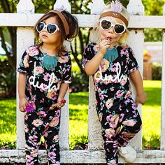 Little fashionistas.