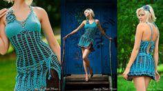 #turquoise #crochet #dress