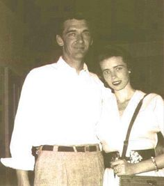 Carl Smith and June Carter [Courtesy of Carlene Carter]