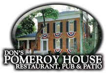 Don's Pomeroy House - a Strongsville tradition. I love the Manhattan chowder, the fishmarket salad and, of course, the warm bread with butter; decadent! The Pub is so festive in the winter and the patio is the plce to be in the summer. One of my favs!