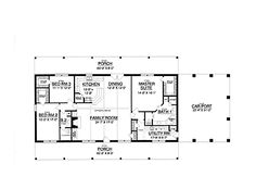 Floor plans, Floors and Ranch home plans on Pinterest