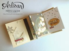 Stamp 2 LiNotte: Recycler vos pochettes Project Life pour vos minis - Stampin'Up ! Artisan Blog Hop - Décembre # 2