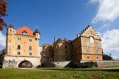 Castle Marusevac near Varazdin