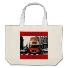 Sac fourre-tout à souvenir d'autobus de Londres