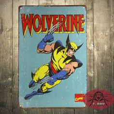 Wolverine Tin Sign //Price: $16.99 & FREE Shipping //     #hashtag1