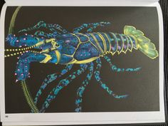 Rock Lobster By Jo Warren Drawn Tim Jeffs Coloured Me LobsterAdult ColoringColoring BooksColouringLobsters
