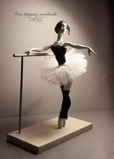 """Bjd ballerina doll """"At the ballet class"""" + Dancers bar. Collectible doll, art doll, ball jointed doll, gift for dancer Porcelain Dolls Value, Fine Porcelain, Ballet Class, Ballet Dancers, Ballerina Doll, Ballerina Poses, Learn To Dance, Doll Stands, Art Dolls"""