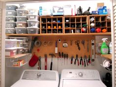 Tool Storage Ideas for Small Spaces - Neutral Interior Paint Colors Check more at http://www.tampafetishparty.com/tool-storage-ideas-for-small-spaces/