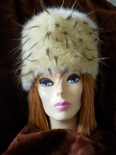 Furnoggin hats is a fun faux fur for your comfort in the cold.  Look good, feel great