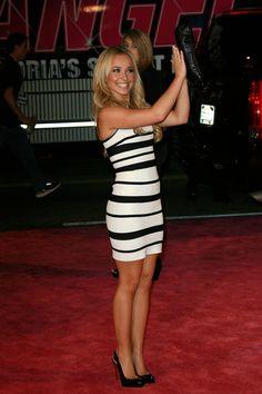 Hayden Panettiere .. like the dress