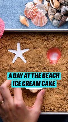 Ice Cream Desserts, Frozen Desserts, Ice Cream Recipes, Fun Baking Recipes, Sweet Recipes, Dessert Recipes, Cupcakes, Cupcake Cakes, Delicious Desserts