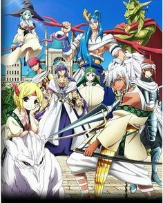me:ellenie • Sinbad and the eight generals #sinbadnobouken #magi #eightgenerals…