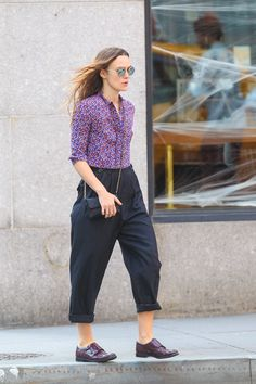 Keira Knightley Puts an English Spin on Menswear Dressing
