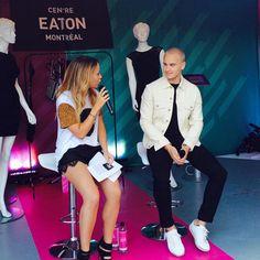 Pour ceux et celles qui ont manqué l'interview de notre créateur de mode au Festival Mode & Design pour le Centre Eaton de Montréal, voici un aperçu de Rudy Bois avec l'intervieweur Andréanne Marquis! www.RUDYBOIS.com #rudybois #fashion #mode #designer #festival #design #style #ootd #men