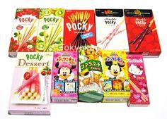 Japanilaiset karkit, keksit ja muut herkut, etenkin Pocky ja Pretz, varsinkin jos noita kiivinmakuisia Pockyja saisi <3 Snack Recipes, Snacks, Pop Tarts, Good Food, Kitty, Japanese, Desserts, Korea, Xmas