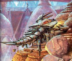 Escorpião de Lata Os Dinossauros e o Mundo Fantástico de James Gurney