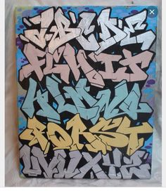 Pinterest | SophiaaDaher Graffiti Alphabet Styles, Graffiti Lettering Alphabet, Graffiti Text, Graffiti Words, Graffiti Writing, Graffiti Tattoo, Graffiti Tagging, Graffiti Styles, Cool Lettering