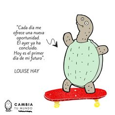 Louise Hay, Optimism, Cute Cartoon, Namaste, True Stories, Self Love, Positivity, Thoughts, Quotes