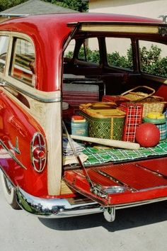 Picnics in the back of the station wagon