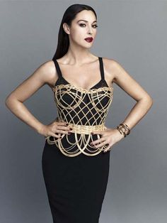 Monica Bellucci - in Dolce & Gabbana for S Moda, May 2013. Photographed by Alvaro Beamud Cortes,