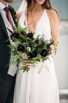 Bridal bouquet - Modern Industrial Toronto Wedding at Aperture Room