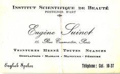 Vintage Business Card by takeabreak, via Flickr