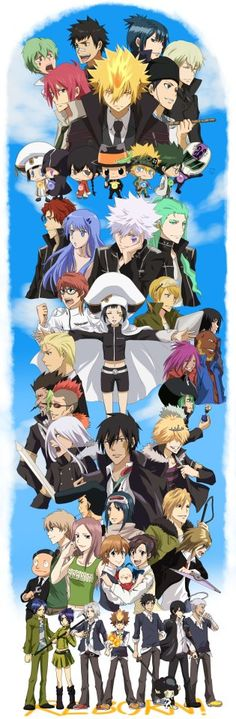 Almost all the characters from KHR