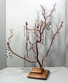 Jewelry Tree  Large Manzanita  1112 by RedBarkDesigns on Etsy, $38.00