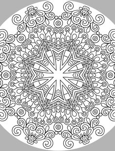 Free Donwload Creative Haven Nature Mandalas Coloring Book Books Adult