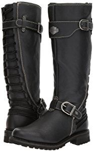 Harley-Davidson Women's Lenehan Motorcycle Boot, Black, 7 Medium US Harley Boots, Harley Gear, Harley Davidson Boots, Biker Boots, Riding Boots, Rock Elegante, Cute Shoes, Me Too Shoes, Motorcycle Outfit