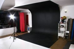 Decoração para Estúdio Fotográfico Studio Interior, Interior Design, Photography Studio Setup, Studio Organization, Video Studio, Dream Studio, Photographic Studio, Studio Lighting, Decoration