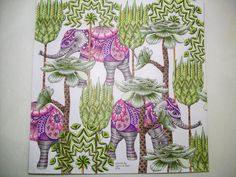 Trees Elephants