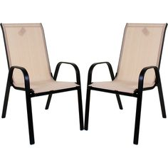 Patio Chair Set of 2 Chairs Outdoor High Back Bistro Contemporary Garden Furnitu for sale online